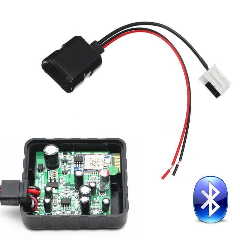 car bluetooth radio stereo aux adapter receiver filter fit bmw e60 rh ebay com Aux Wire Aux Input Cable