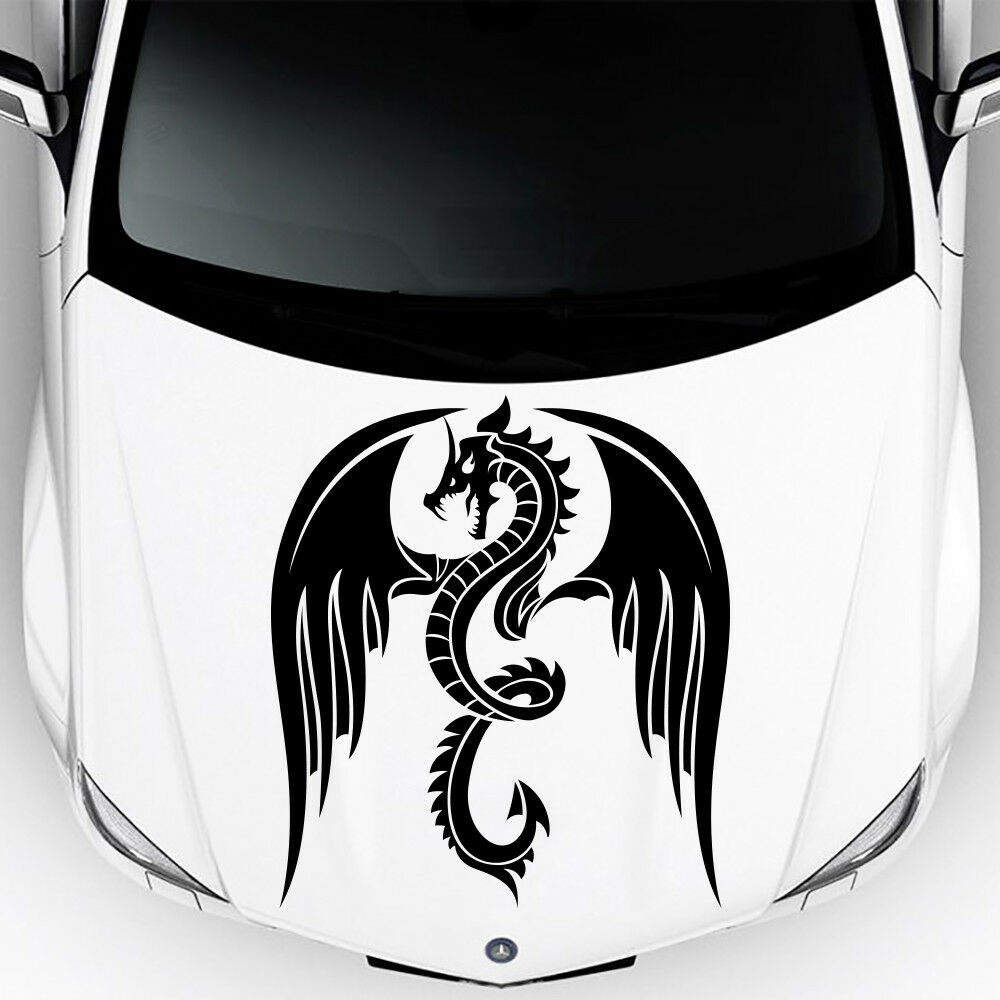 Details about car hood decals graphics sticker car body sticker dragon vinyl car sticker ma511