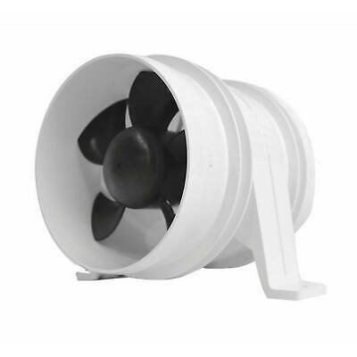 Attwood Turbo 3000 In-Line Blowers, White 3 inch (1733-1) FO-2835-1
