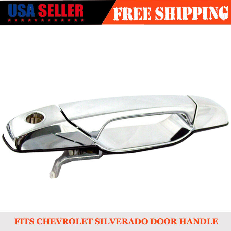 Details About Chevy Tahoe Gmc Yukon Sierra Denali Xl 07 13 Front Outer Chrome Door Handle Lh