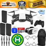DJI Tello Quadcopter by Ryze Tech With T1d Controller 3 BATTERY KIT NEW IN STOCK