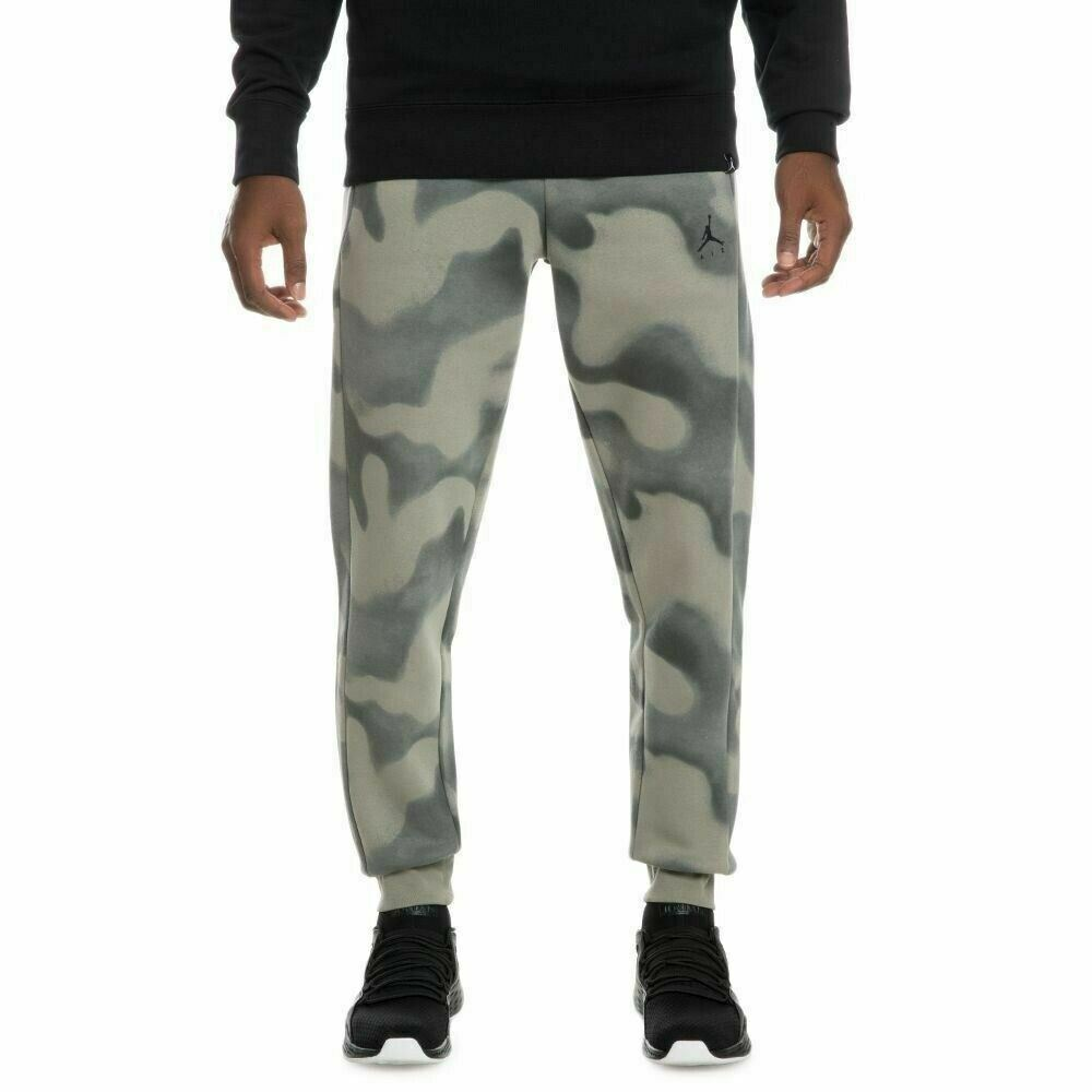 42975473ee68be Details about  860358-018  Mens Air Jordan P51 Flight Fleece Pants - Camo