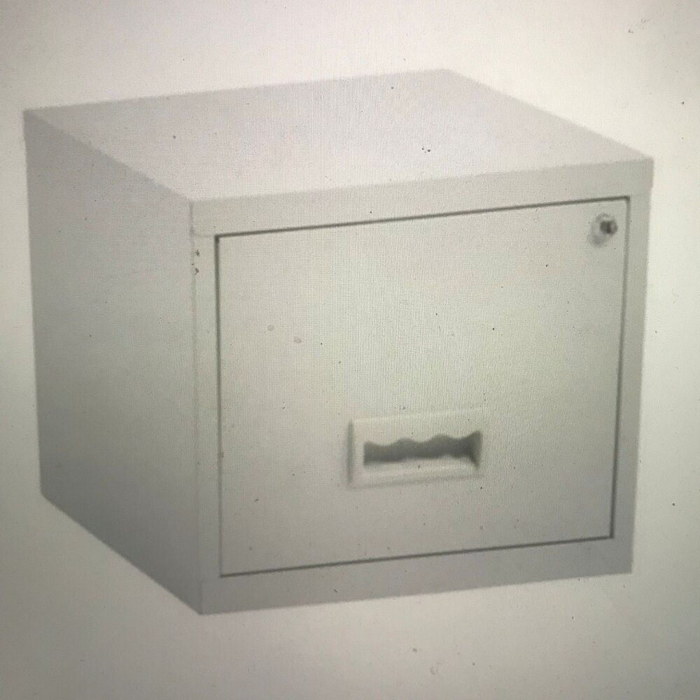 a4603325975 Details about 1 DRAWER  PIERRE HENRY  STEEL FILING CABINET   GREY   A4    NEW + FREE DEL 24h