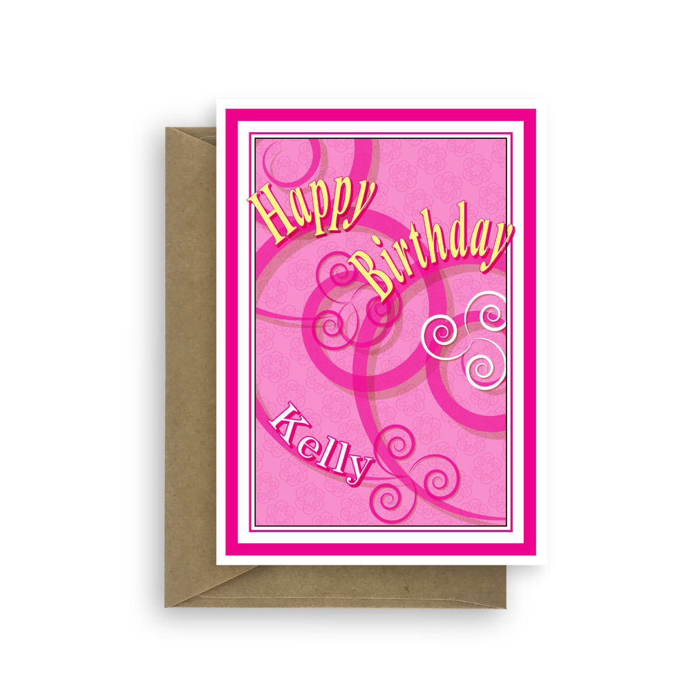Details About Edit Name Happy Birthday Card For Her Mom Mum Aunt Sister Daughter Personalised