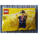 LEGO 40308 - LESTER MINIFIGURE - LEICESTER SQUARE EXCLUSIVE -  NEW & SEALED