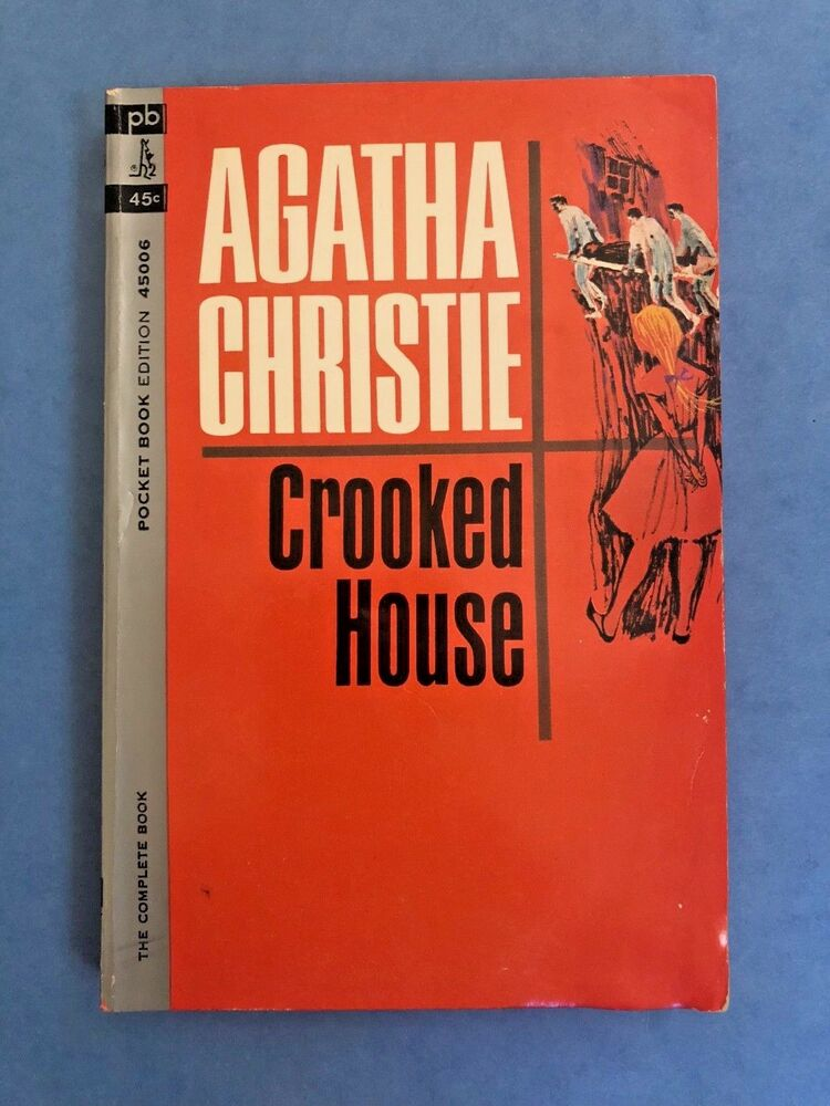 Hawaii Slanted House Design: CROOKED HOUSE By Agatha Christie #45006 VINTAGE (1964