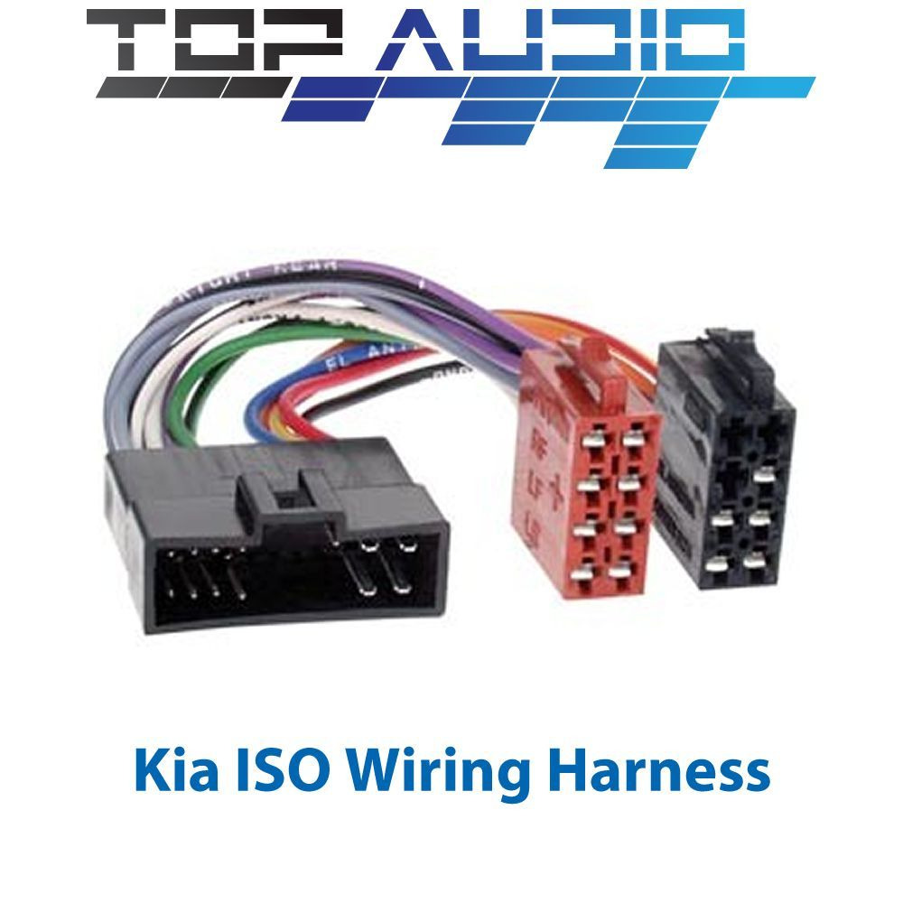 Kia Wiring Connectors Harness Fit Iso Stereo Radio Cable Lead Loom Connector Adaptor Ebay 1000x1000