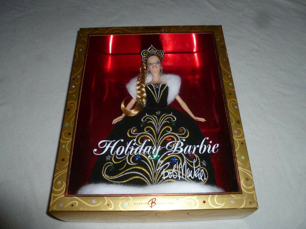 NEW IN BOX HOLIDAY BARBIE COLLECTOR BOB MACKIE DOLL MATTEL
