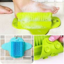 Easy Feet Foot Scrubber Brush Massager Shower Clean Slippers Washer Exfoliators
