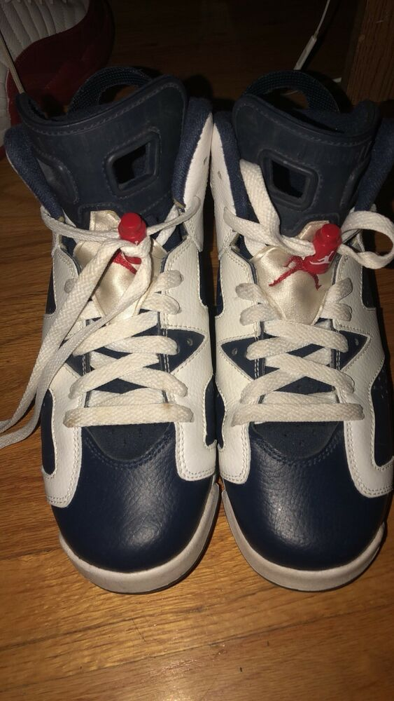 c62e9faac38 Details about Nike Air Jordan Retro 6 Olympic London size 5.5 youth