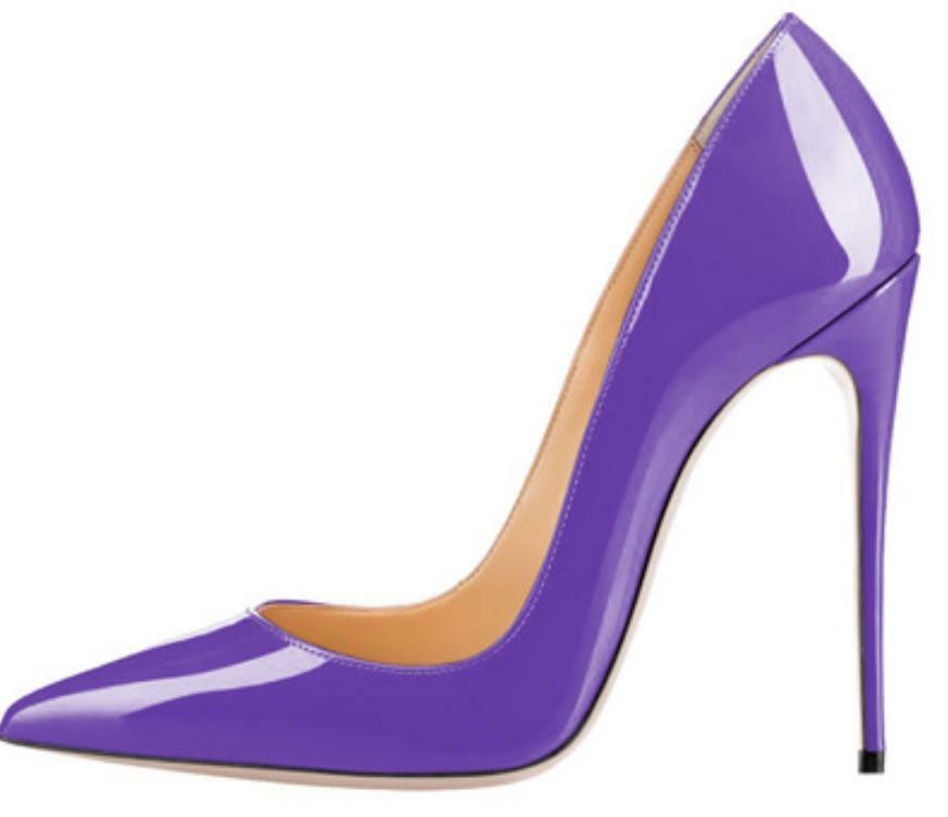 6f6f5c1a96 Details about Women's Super High Stiletto Heel Sexy Pumps Slip On Wedding  Pointed Toe Shoes