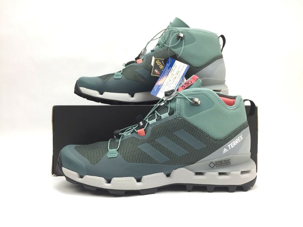 first rate 68677 4ee2b Details about Adidas Terrex Fast Mid GTX Surround Hiking Shoes Size 11  Women Size 9.5 Men