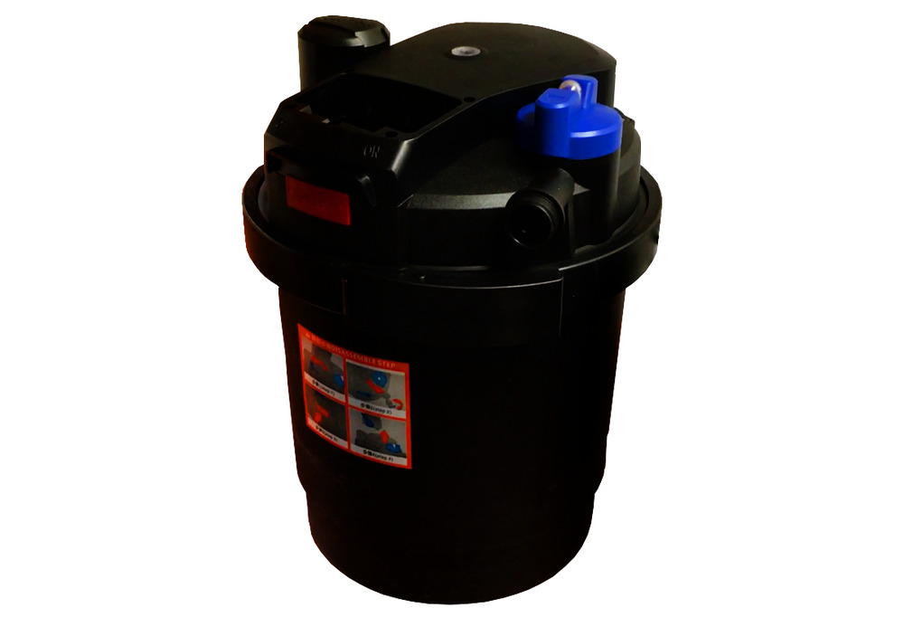 Fish & Aquariums Jbj Efu-35 Reaction Canister 4-stage Filter Uv Rated Up To 150 Gal