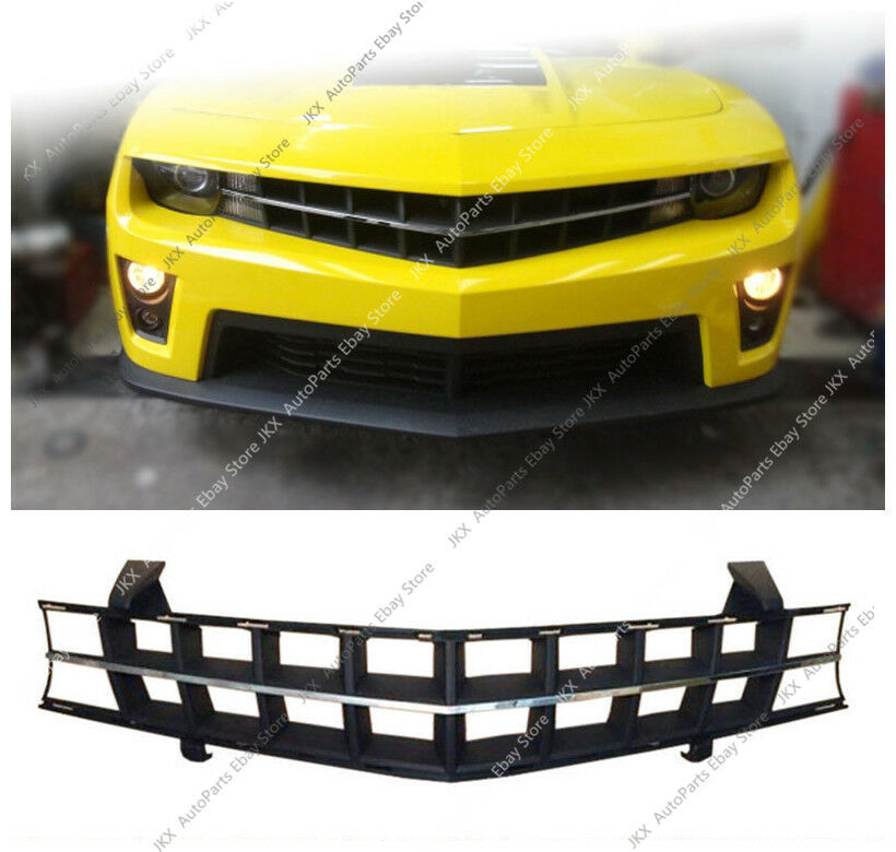 Front Bumper Upper Middle Grille Vent Hole Grill O For Chevrolet