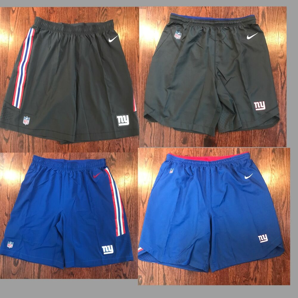 fd2c668e0d8 Details about NWT MEN S NFL NY GIANTS NIKE DRI FIT SPEED VENT ATHLETIC  SHORTS