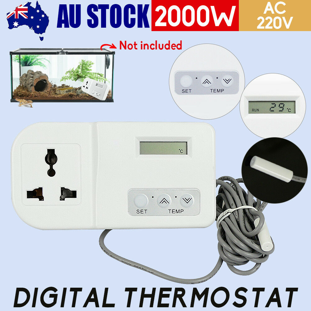 Digital Temperature Thermostat Controller Aquarium Heater Incubator  Refrigerator | eBay