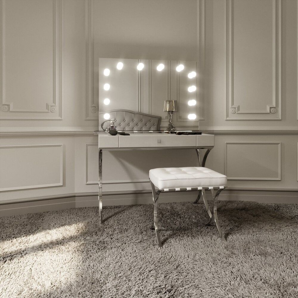Hollywood Mirror Illuminated Stylish Vanity Makeup Mirrors