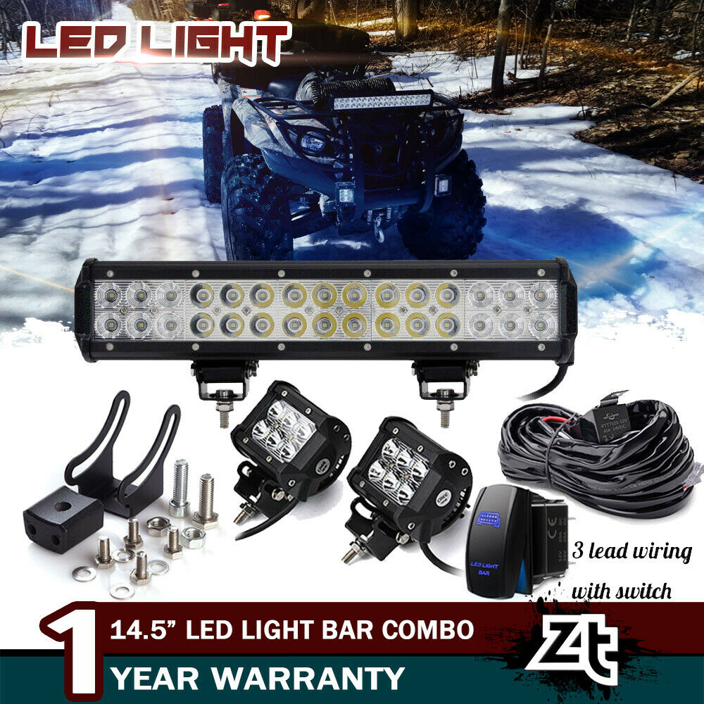 14 Led Light Bar Combo 2016 2018 Can Am Outlander Max Xmr 450 570 2007 Polaris Sportsman 500 Adc Wiring Diagram You May Also Like
