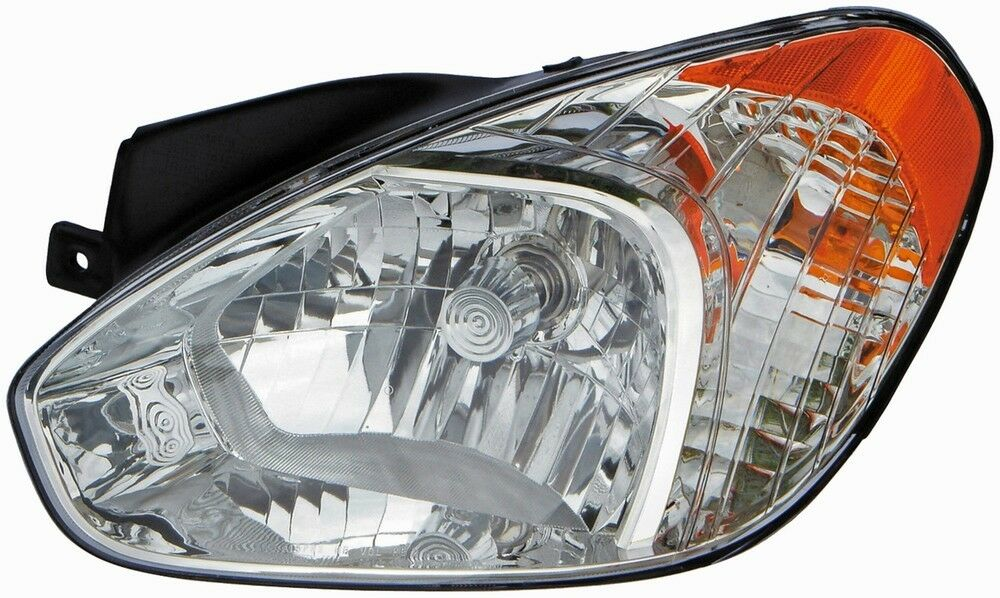 Details About Left Headlight Embly For 2006 2017 Hyundai Accent 2008 2010 2007 2009 Dorman