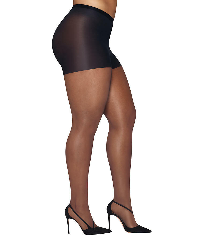655e6b352 Details about Hanes Plus Size Curves Silky Sheer Control Top Pantyhose  Hosiery - Women s