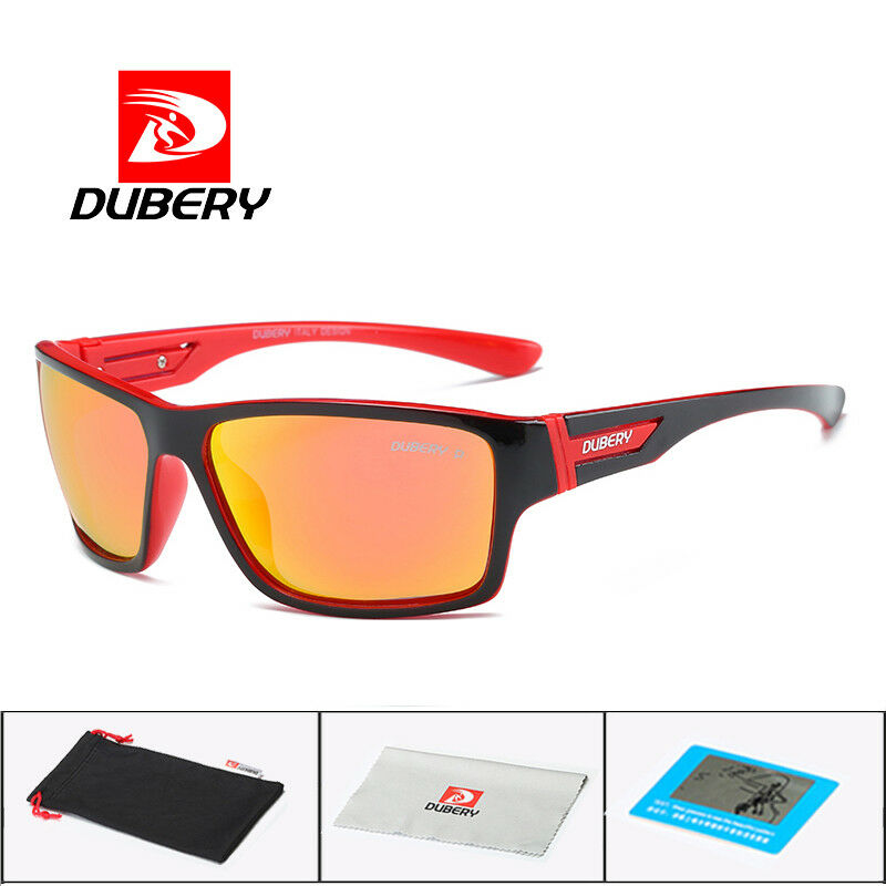 c2a6179397 Details about DUBERY Polarized Sunglasses Men s Aviation Driving Shades  Male Sun Glasses For M
