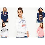 New Womens Superdry Hoodies Selection - Various Styles & Colours 09081