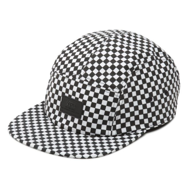 5ef0cad99a48a Details about Vans DAVIS 5 Panel Camper Hat (NEW) Mens Cap CHECKERS  CHECKERBOARD Free Shipping