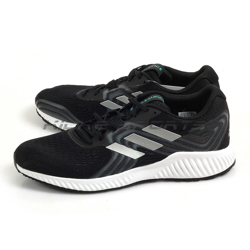 Details about Adidas Aerbounce 2 M Black Silver Metallic White Training Running  Shoes AQ0536 7c4df912e