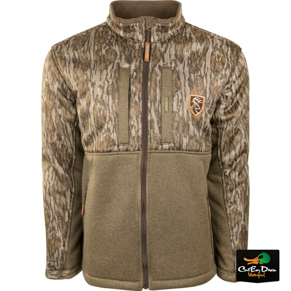 1b87a66023e86 Details about DRAKE NON-TYPICAL SILENCER DOUBLE IMPACT FULL ZIP JACKET CAMO  AGION ACTIVE XL