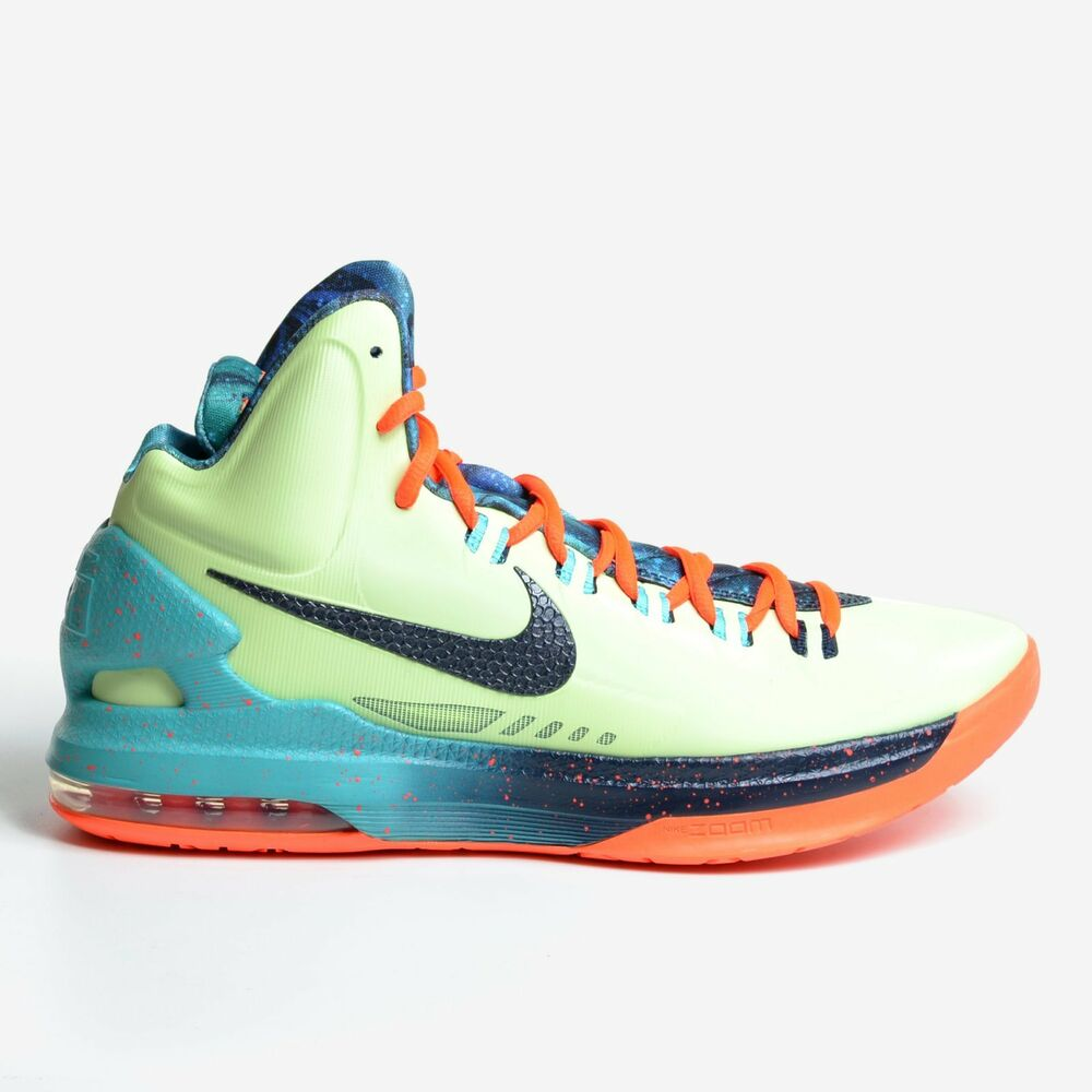 promo code d31b7 6ce60 Details about Nike KD 5 V Allstar Area 72 Lime 2013 ASG All Star Game Kevin  Durant 583111-300