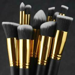 Kyпить 10pcs Makeup Brushes Cosmetic Eyebrow Blush Foundation Powder Kit Set PRO Beauty на еВаy.соm