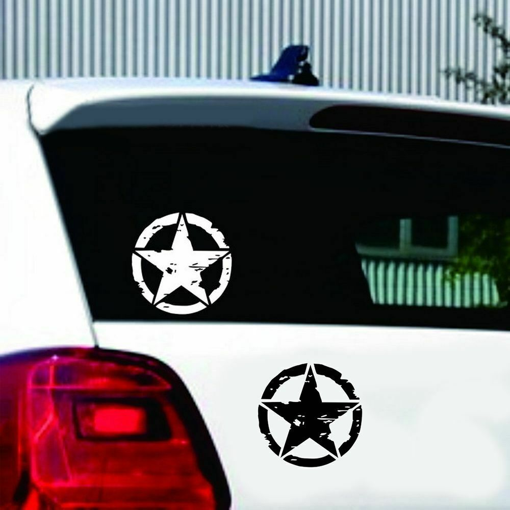 Details about 1515cm army star graphic decals motorcycle vinyl car styling cars stickers hot