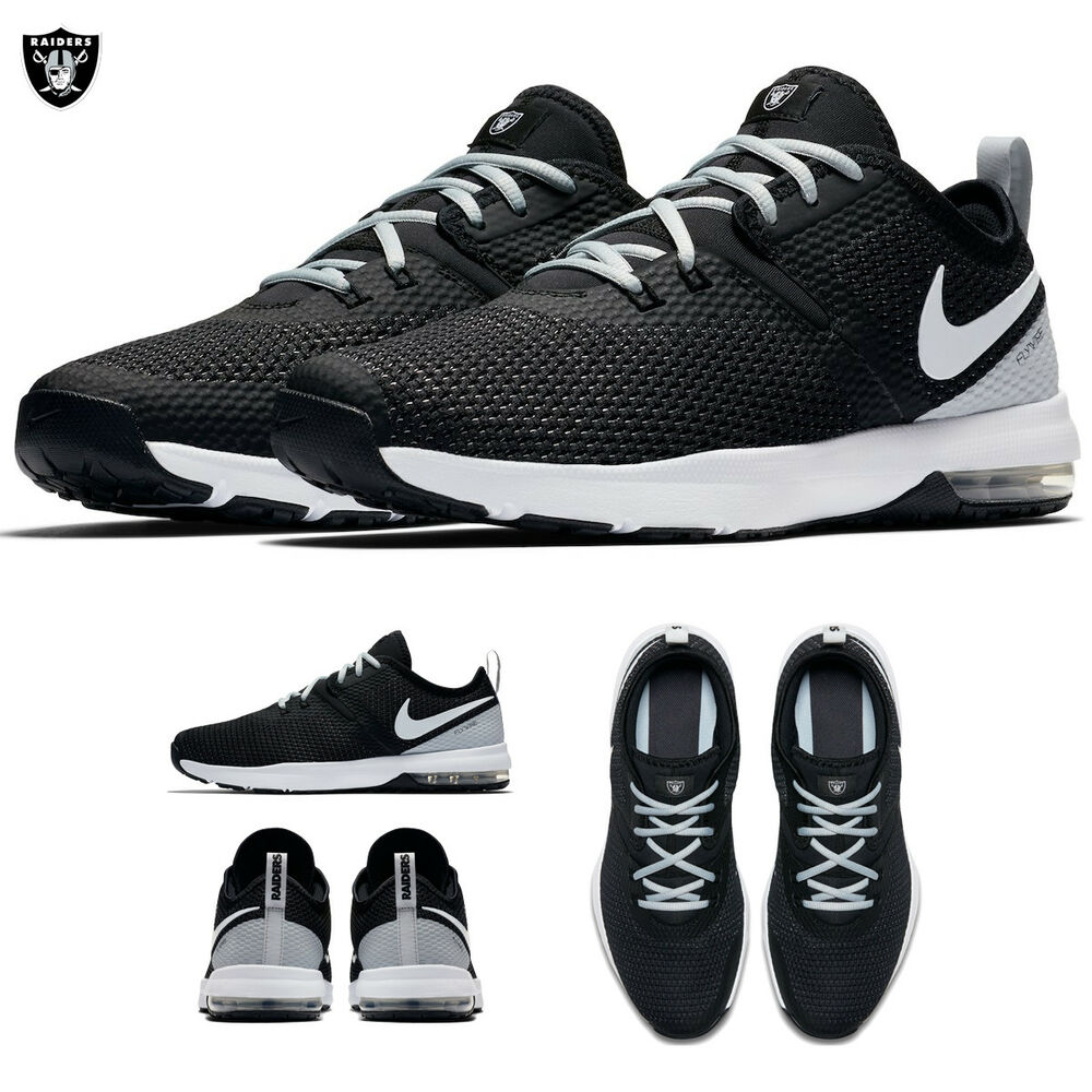 4ddfe544973 Details about Oakland Raiders Nike Air Max Typha 2 Shoes NFL 2018 Limited  Edition NWT Footwear