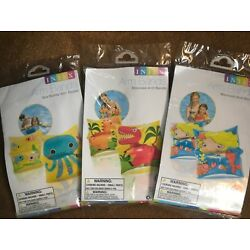 Inflatable Arm Bands Floaties Kids Swimming Pool Safety Trainers Same Day Ship