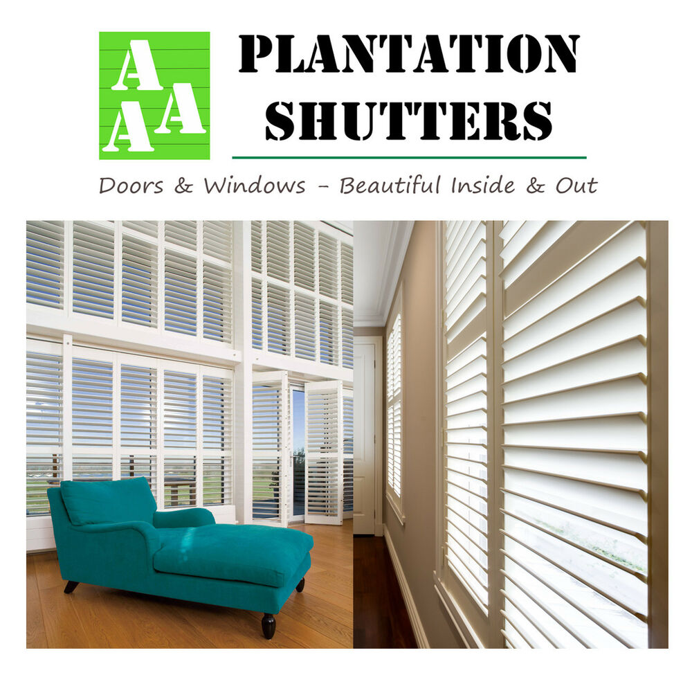 Plantation Shutters Melbourne - Supply & Fully Installed ...