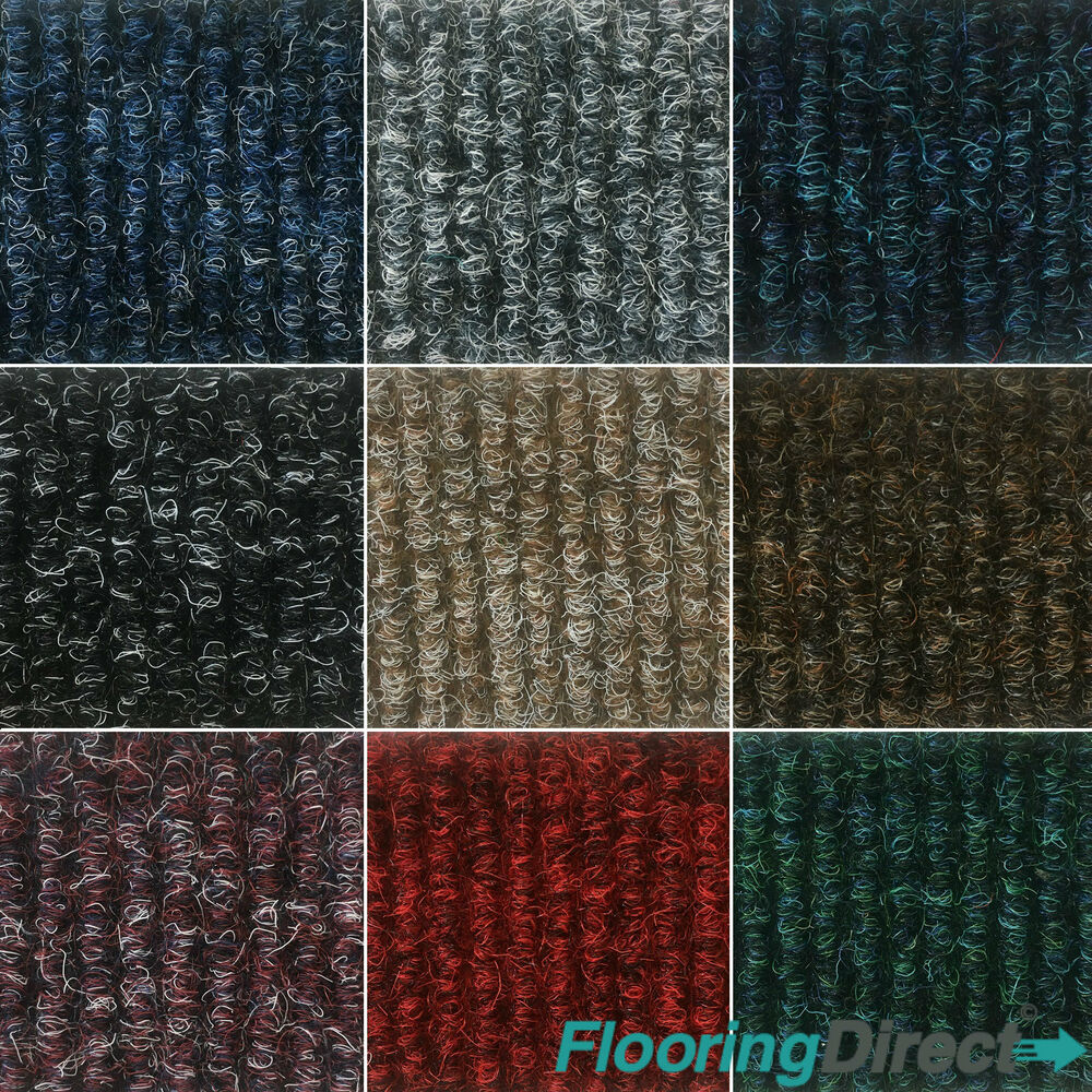 Quality Bedford Rib Carpet Tiles 4m2 Box Commercial