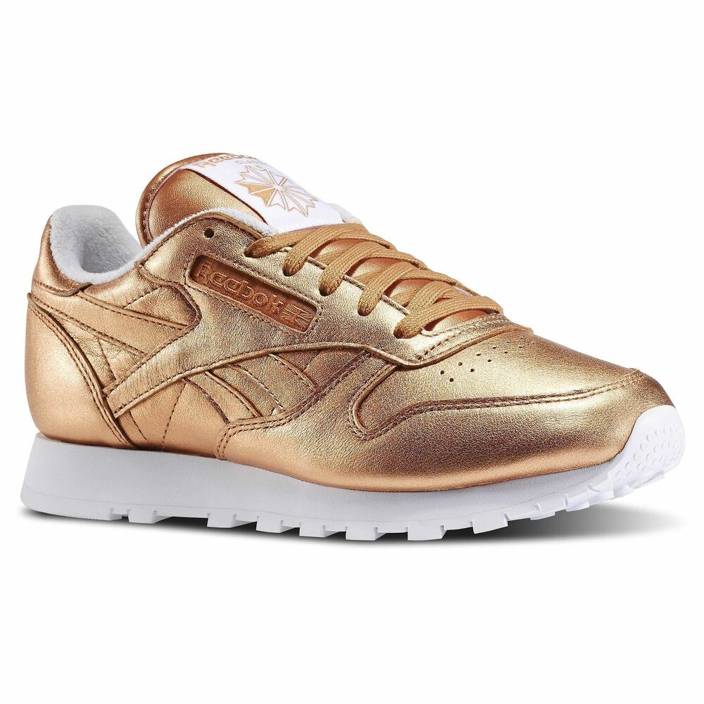 Details about  V67022  Womens Reebok Classic Leather Spirit 7adcc20b57e