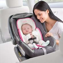 Baby Head Support Car Seat Stroller Infant Pillow Neck Travel Safety Body Pink