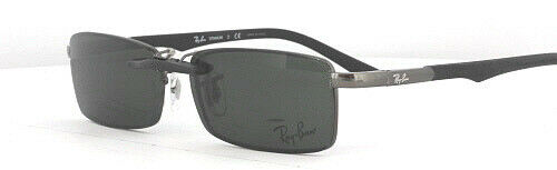 05bc5f7e259 Custom Fit Polarized CLIP-ON Sunglasses For Ray-Ban RB8667 50x17 8667  Rayban