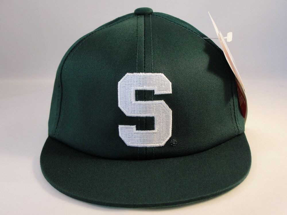hot sale online 7899a 2fa84 Sports Mem, Cards   Fan Shop Fan Apparel   Souvenirs Michigan State  Spartans NCAA Adult Fitted Cap Hat Size MEDIUM College ...
