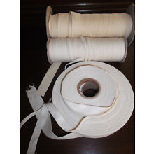 10 yd Cotton Twill hem Tape diff color Craft Sewing 1/4
