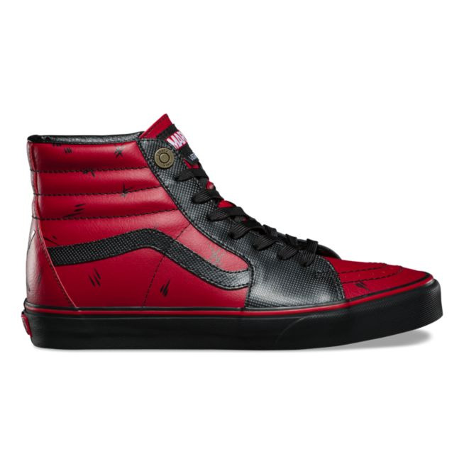 Details about Vans x Marvel DEADPOOL Sk8-Hi Shoes (NEW) Sk8 Hi Top MENS  SIZES 4.5-12 Free Ship fc3163a4c