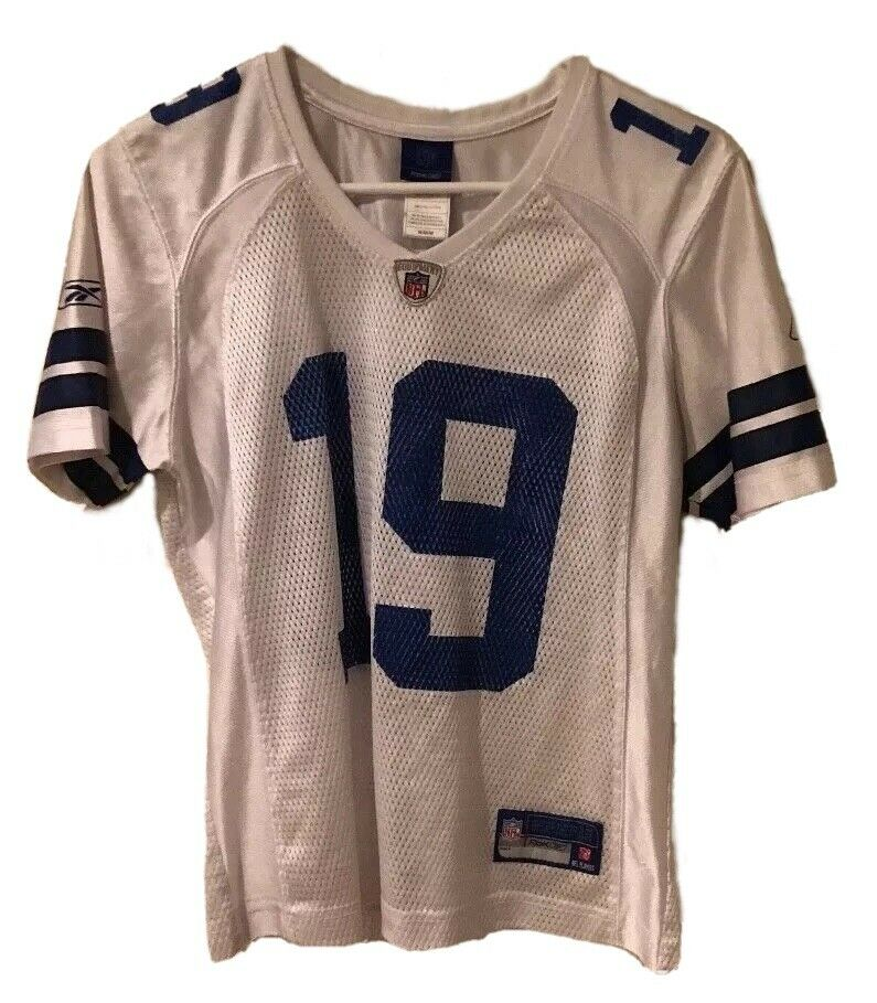 Details about Dallas Cowboys NFL Reebok White  19 Miles Austin Football  Jersey Size Medium f67f88af2