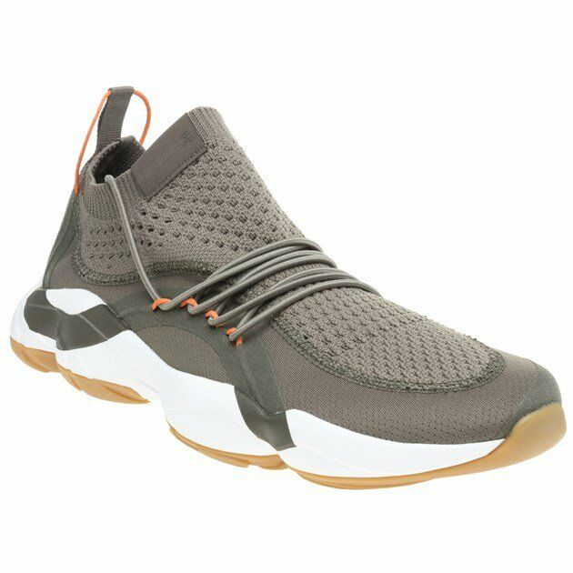a007004a8806 Details about New MENS REEBOK GREEN DMX FUSION NYLON Sneakers Running Style