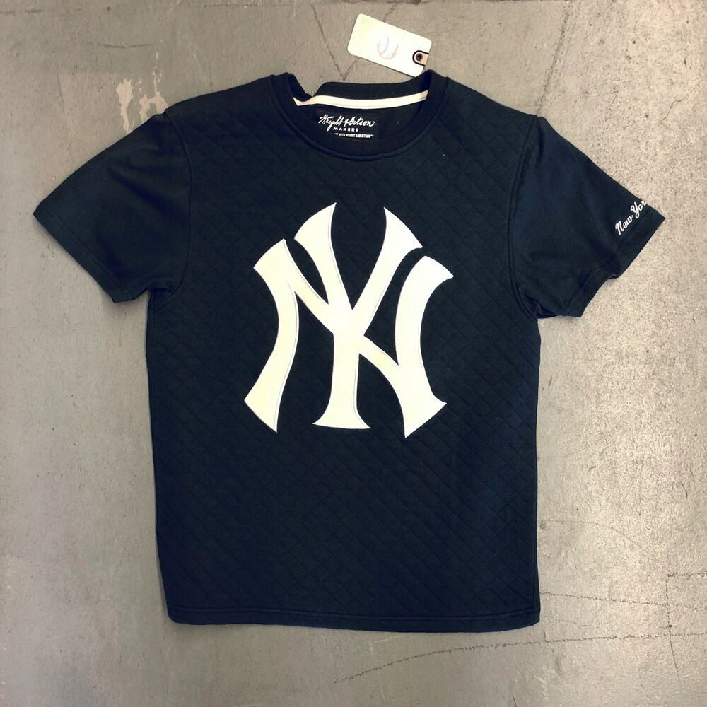 99c2faa8824 Details about New York Yankees Mens Jersey NY Shirt MLB Baseball Authentic  Wright   Ditson