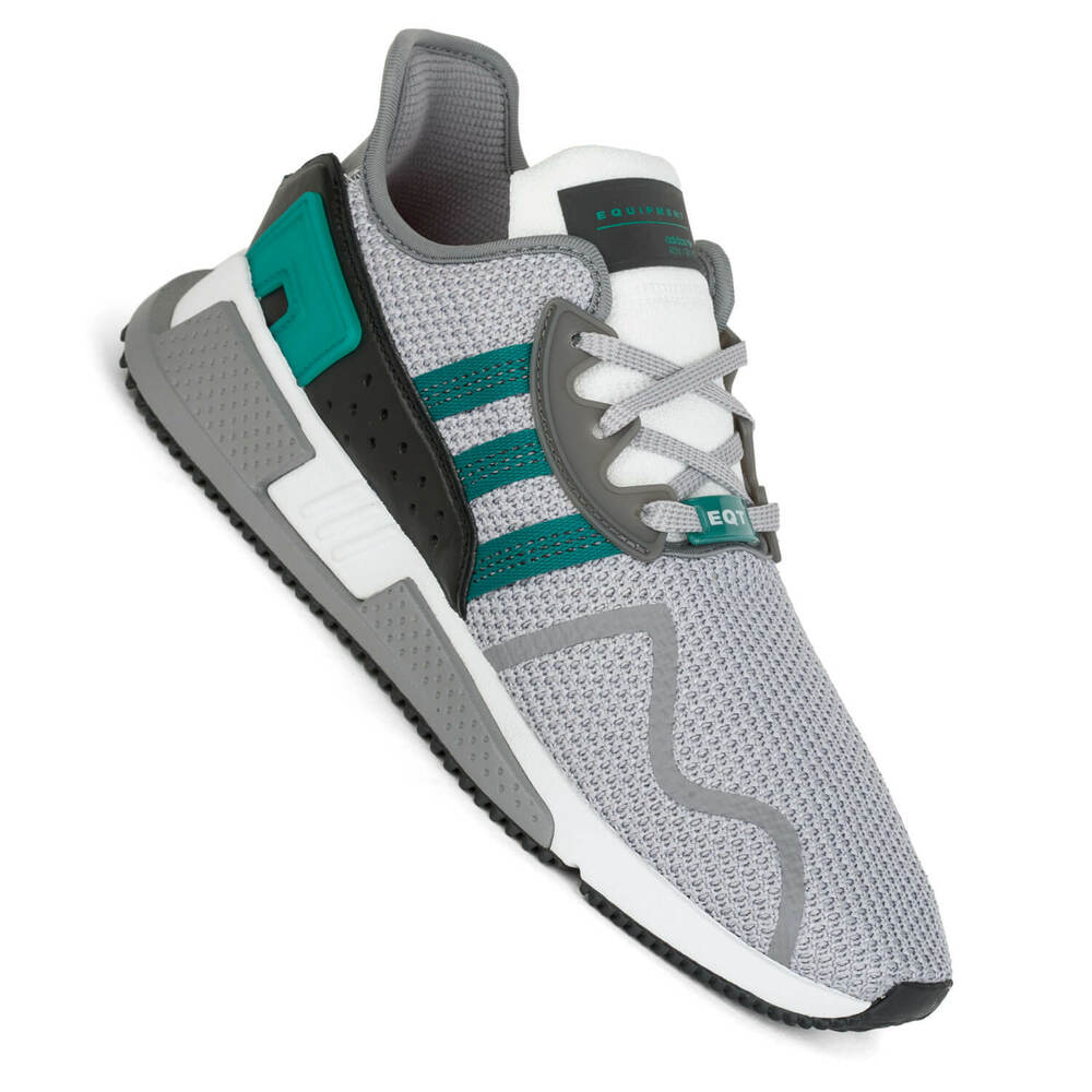 lowest price d199e 0a9d9 Details about Adidas Eqt Equipment Cushion Adv Grey Two Green Mens  Sneakers AH2232