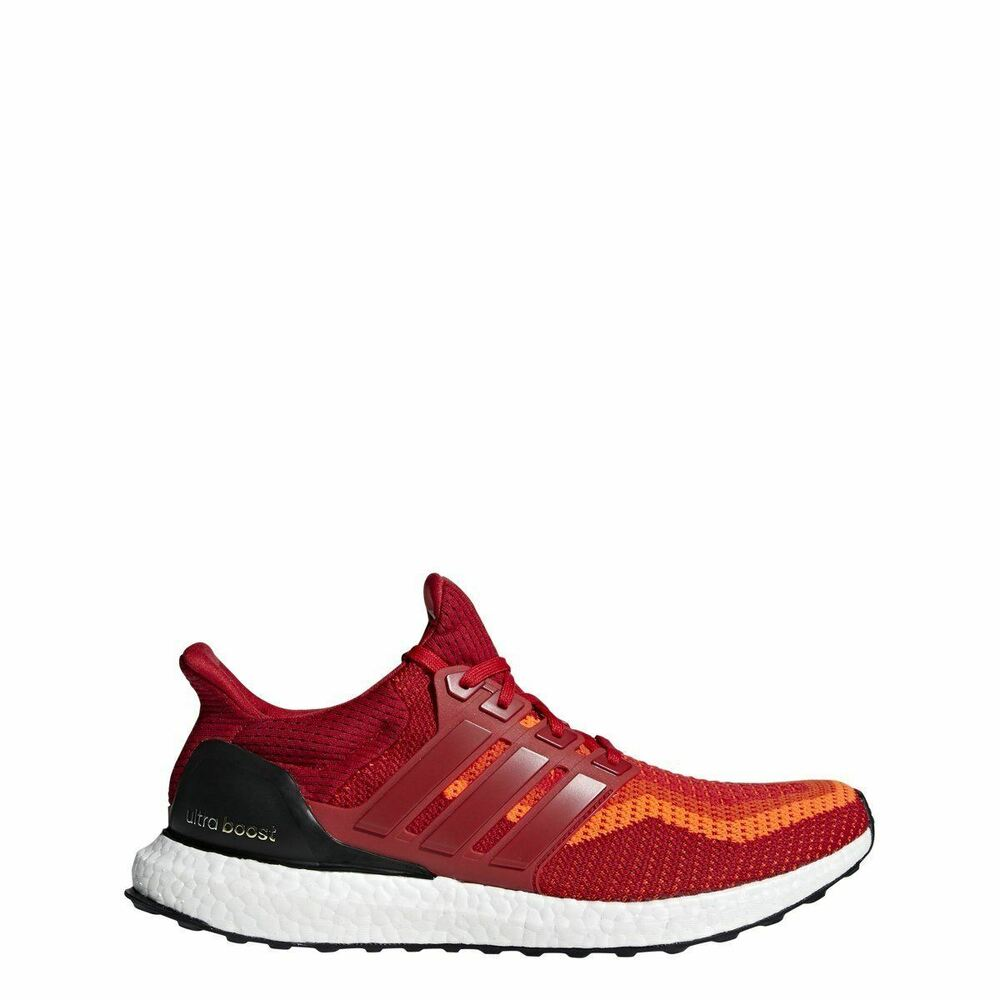 more photos b9533 1f075 Details about  AQ4006  Mens Adidas UltraBoost Ultra Boost M Running Sneaker  - Red Black