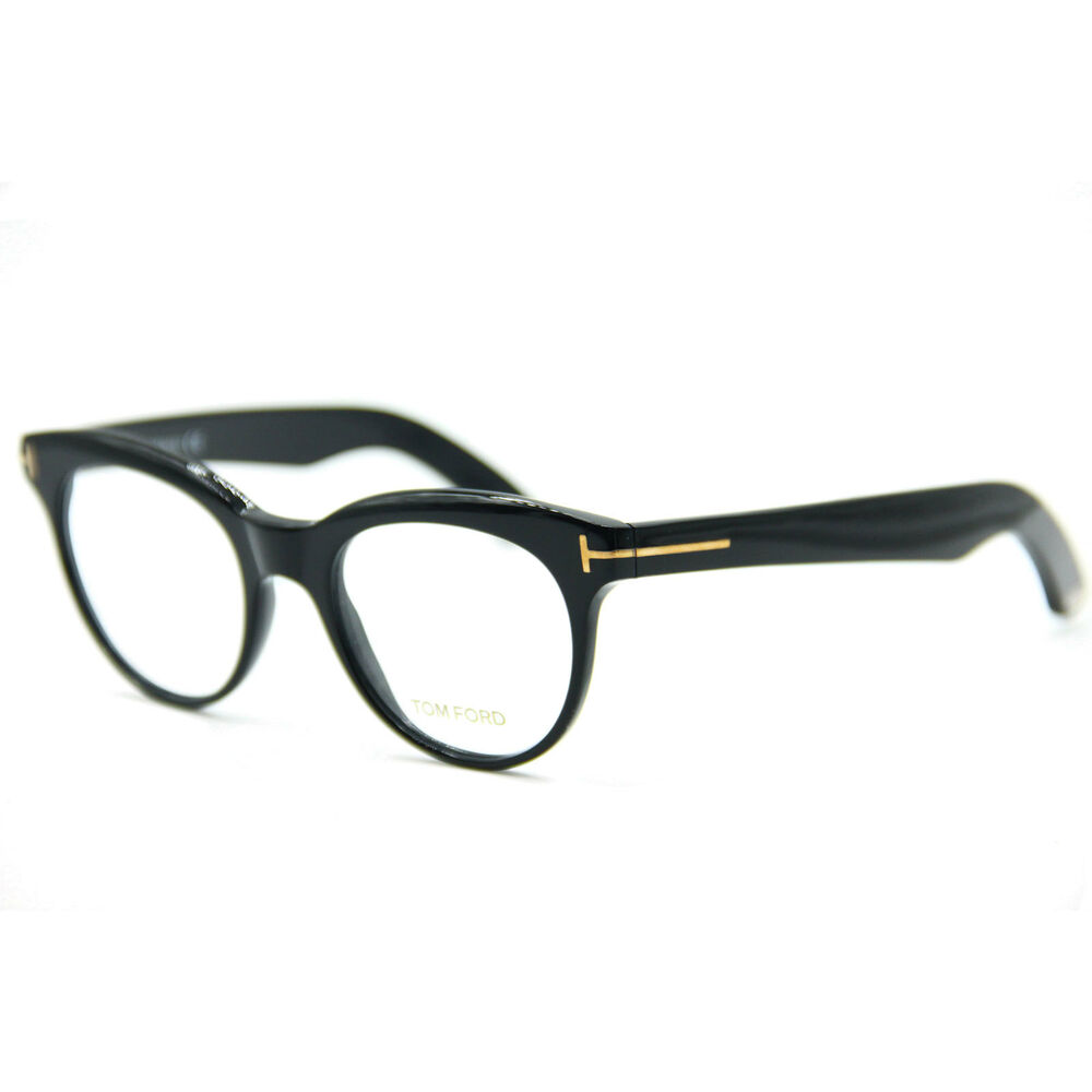 37d23a22d4a Details about NEW AUTHENTIC Tom Ford TF5378 001 Eyeglasses Black 49-20-145