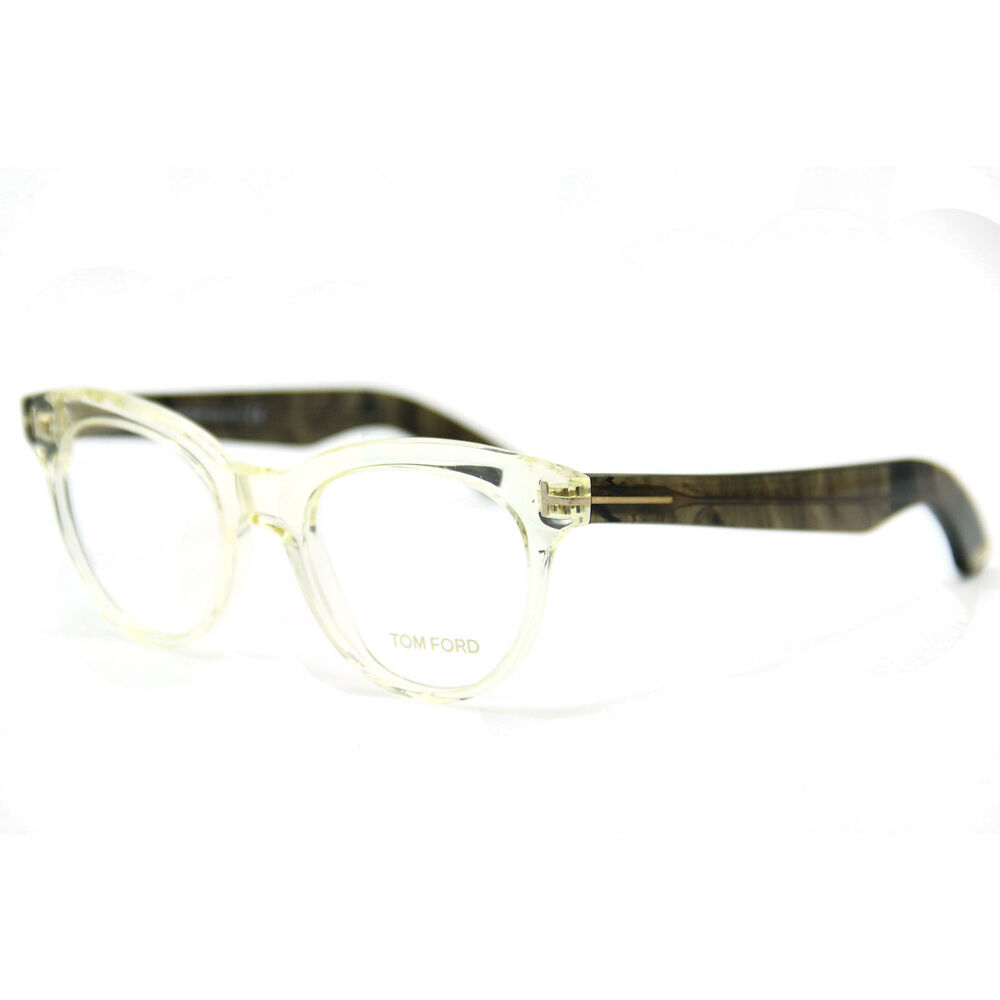 481232f255e Details about NEW AUTHENTIC Tom Ford TF5378 026 Eyeglasses  Beige Transparent 49-20-145