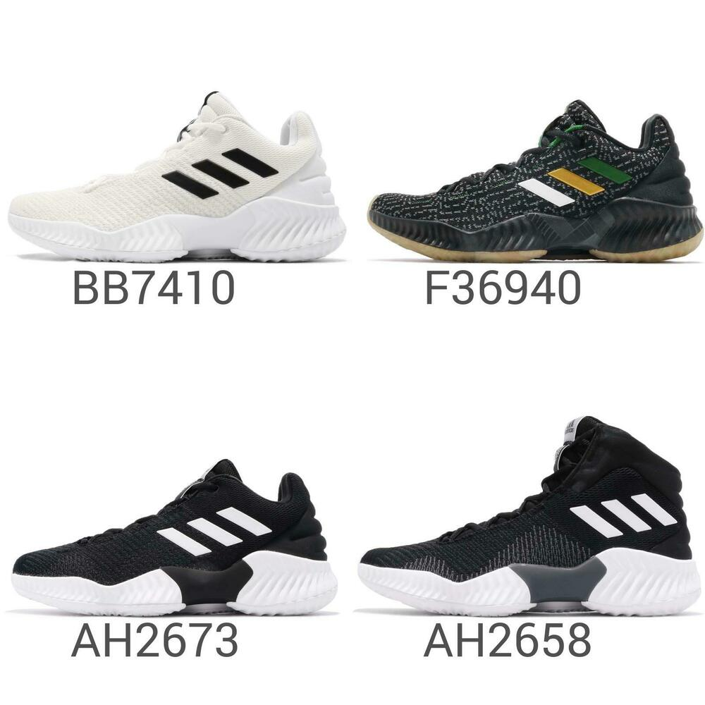 854c5d876 Details about adidas PB Pro Bounce 2018 Low   Hi Men Basketball Shoes  Sneakers Pick 1